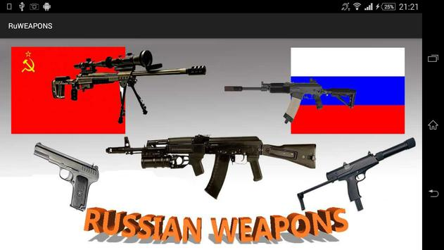 Russian Weapons poster