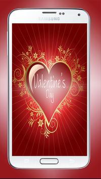 Valentine's Day Sms poster