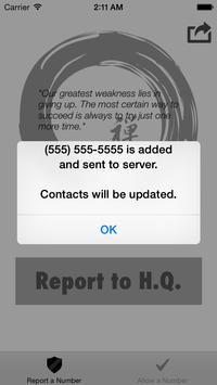 Telemarketer Blocker apk screenshot