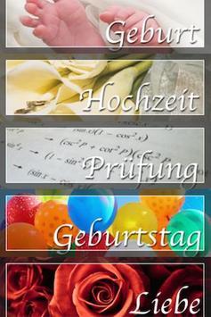 Sprueche (German only) poster