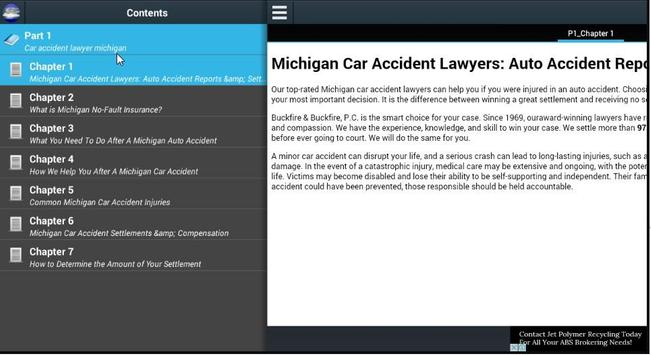 Car accident lawyer michigan poster