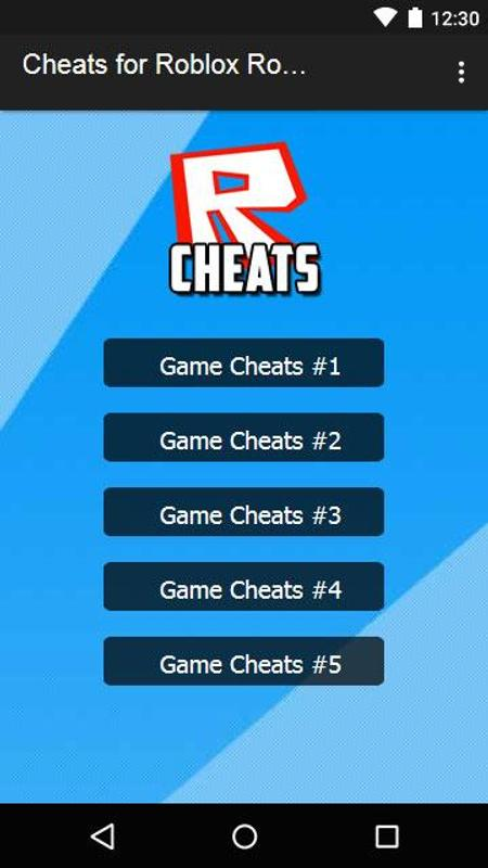 Roblox cheats for robux android