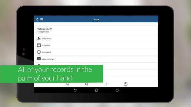 Vantage CRM apk screenshot