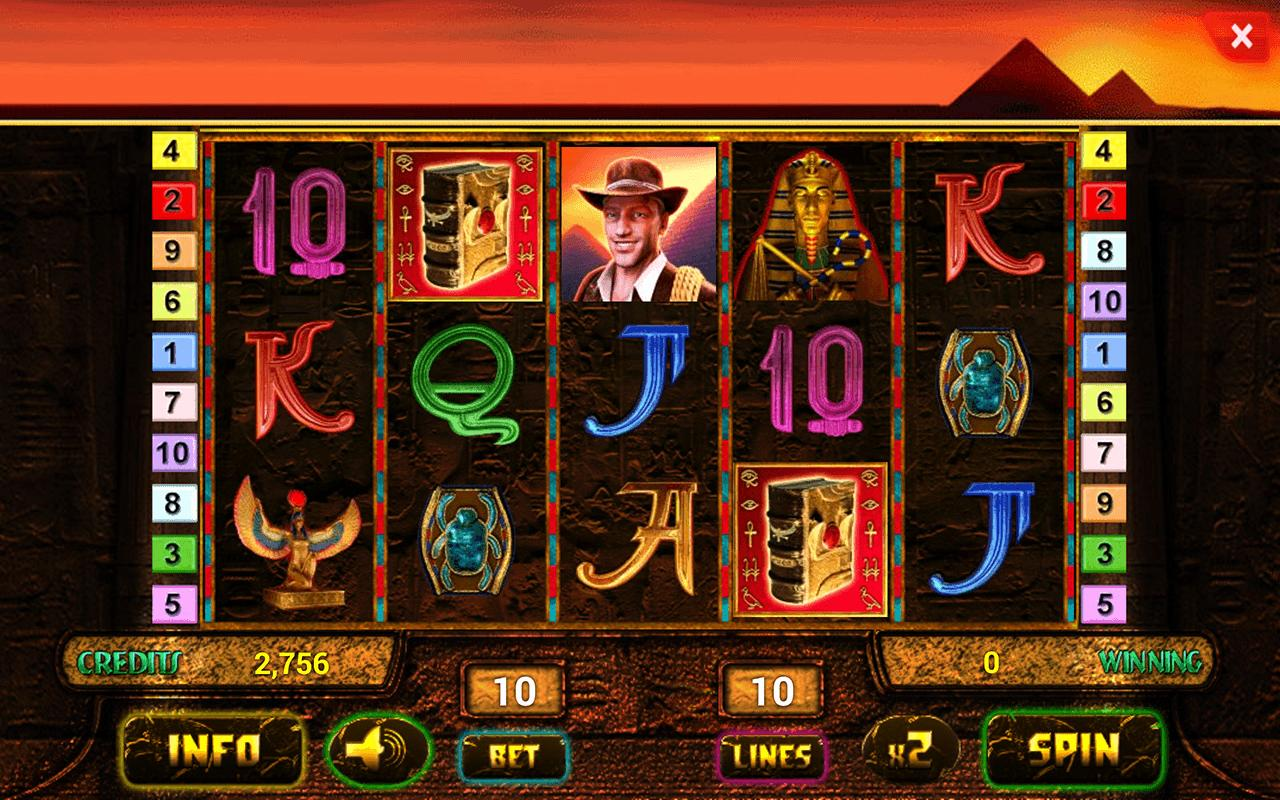 online casino app slot games book of ra