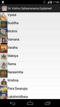 Vishnu Sahasranama Reference apk screenshot