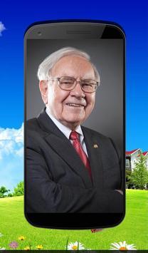 Warren Buffett's Quotes poster