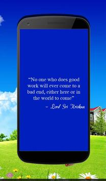 Lord Sri Krishna's Quotes apk screenshot
