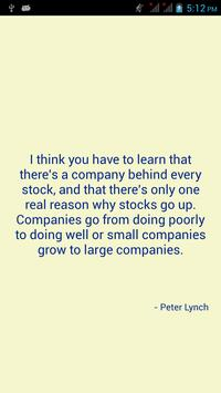 Quotes for Investments apk screenshot