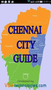 Chennai City Guide poster