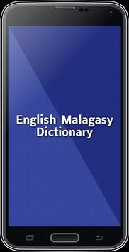 English Malagasy Dictionary poster