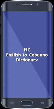 English To Cebuano Dictionary poster
