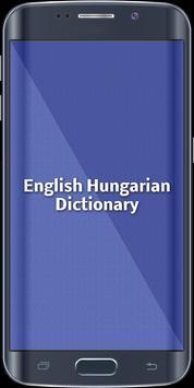 English Hungarian Dictionary poster