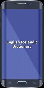 English Icelandic Dictionary poster