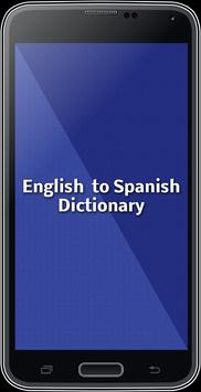 English To Spanish Dictionary poster