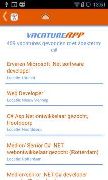 VacatureApp apk screenshot
