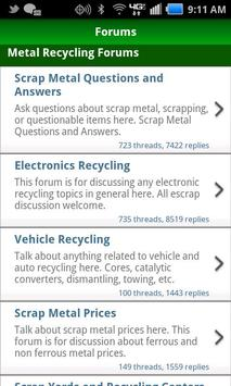 Scrap Metal Forum MOBILE apk screenshot