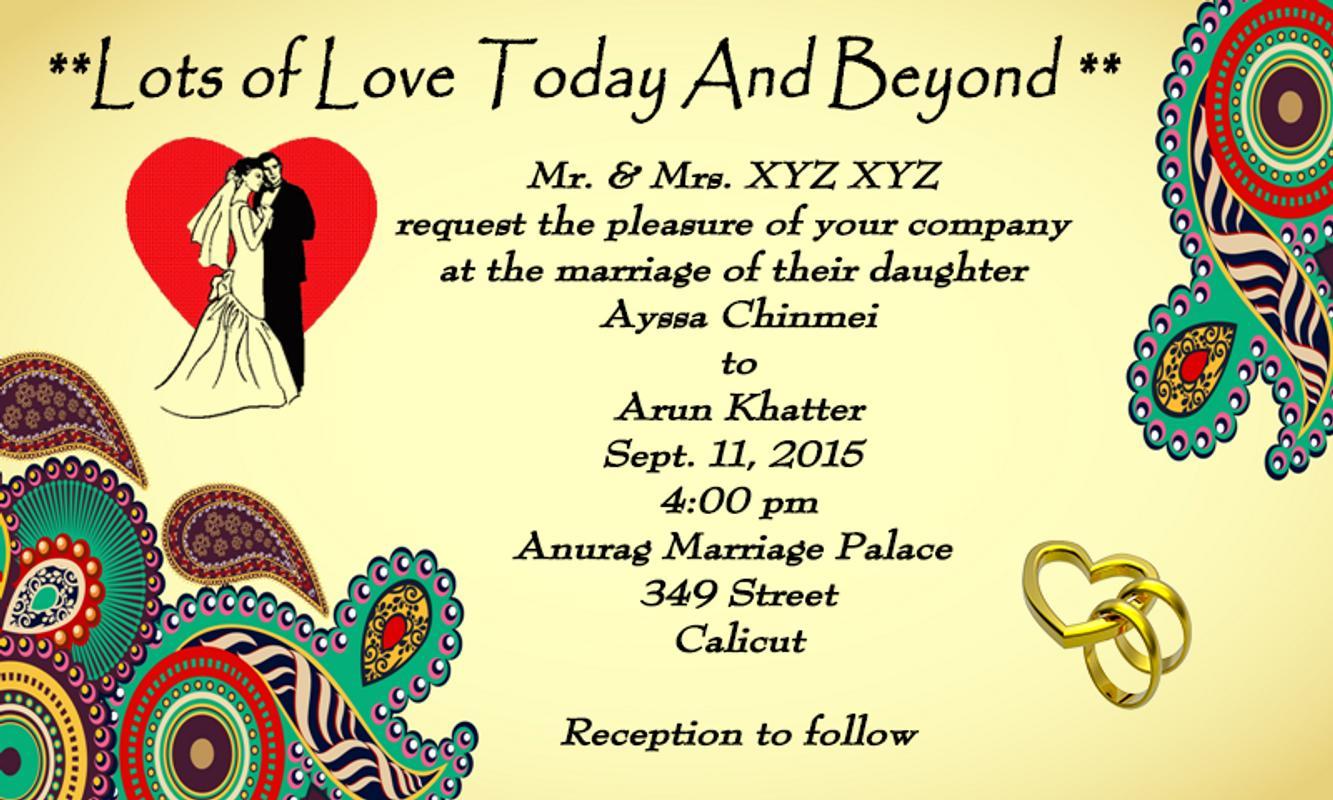wedding invitation cards maker apk baixar gratis social With wedding invitations card maker apk