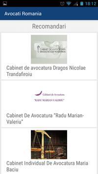 Avocati Romania apk screenshot