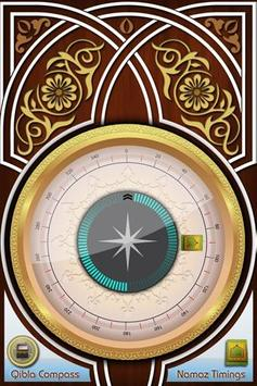 Qibla Compass poster