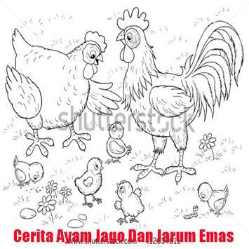 Cerita Ayam Jago & Jarum Emas poster