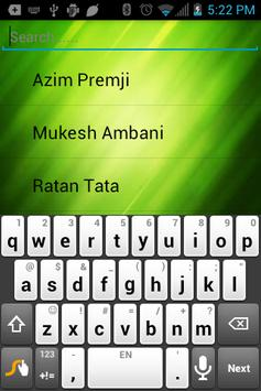 Famous People Of India apk screenshot