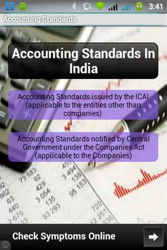Indian Accounting Standards poster