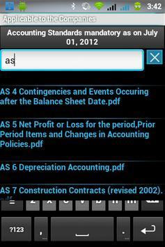 Indian Accounting Standards apk screenshot