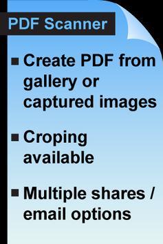 PDF Scanner Free poster