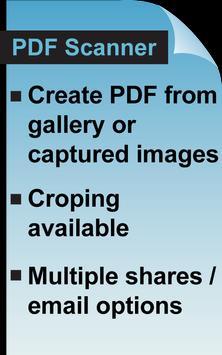 PDF Scanner Free apk screenshot