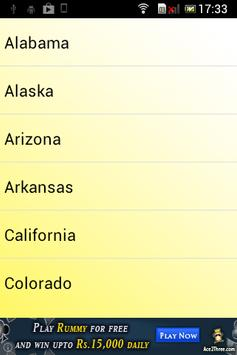 50 States of U.S.A : Revisited apk screenshot