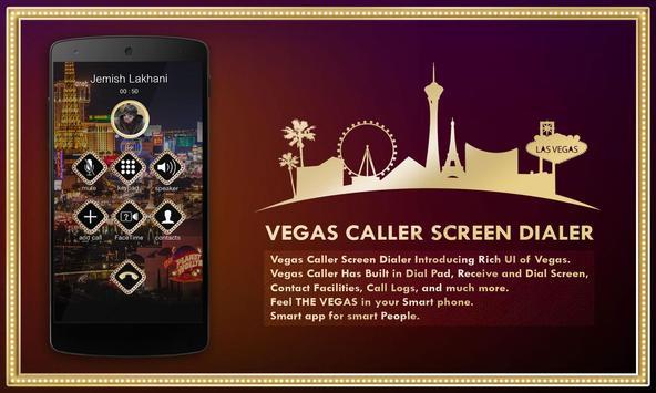 Vegas Caller Screen Dialer poster