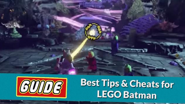 Cheats & Guide For LEGO BATMAN apk screenshot