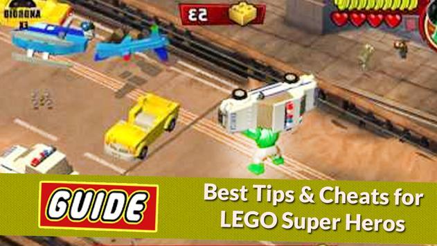 Guide For LEGO Marvel S Heroes apk screenshot