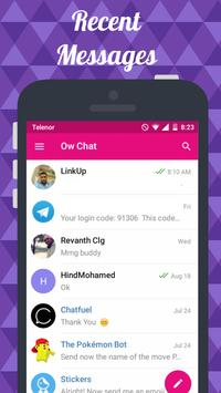 Owchat apk screenshot