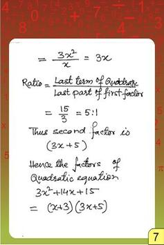 VEDIC MATHS MULTIPLICATION ALL poster