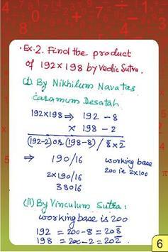 Vedic Maths - Multiplication 4 poster