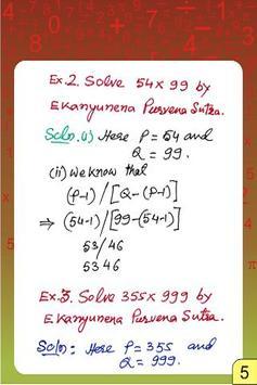 Vedic Maths - Multiplication 5 apk screenshot