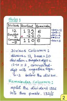 Vedic Maths - Division - Parav poster