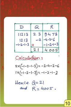 Vedic Maths - Division - Parav apk screenshot