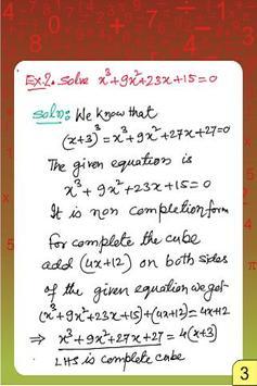 Vedic Maths - Equation - Quadr apk screenshot