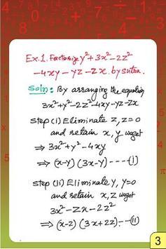 Factorization,HCF,Deviation apk screenshot