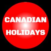 Canadian Holidays 2016 icon