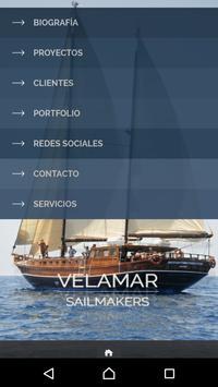 Velamar Sailmakers. poster
