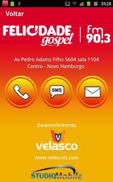 Rádio Felicidade Gospel apk screenshot