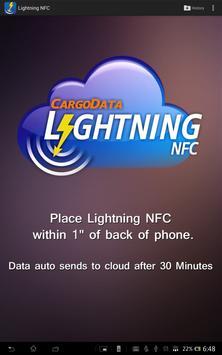 Lightning NFC App apk screenshot