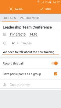 BLAP: Group Conferencing V2 apk screenshot
