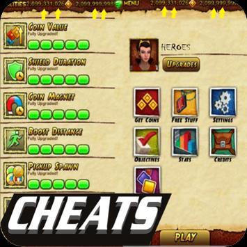 Cheats Temple Run 2 apk screenshot