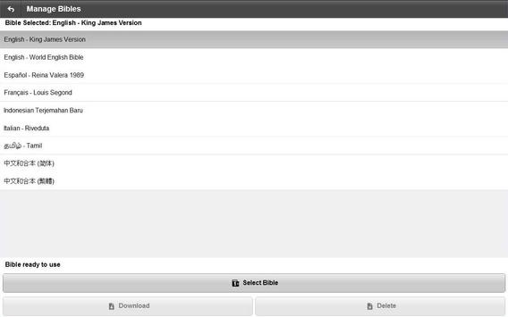 e-Mmanuel Audio Bible apk screenshot
