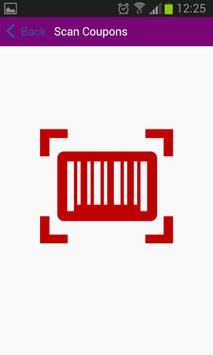 Coupon Barcode Scanner apk screenshot