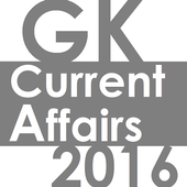 GK & Current Affair 2016 INDIA icon